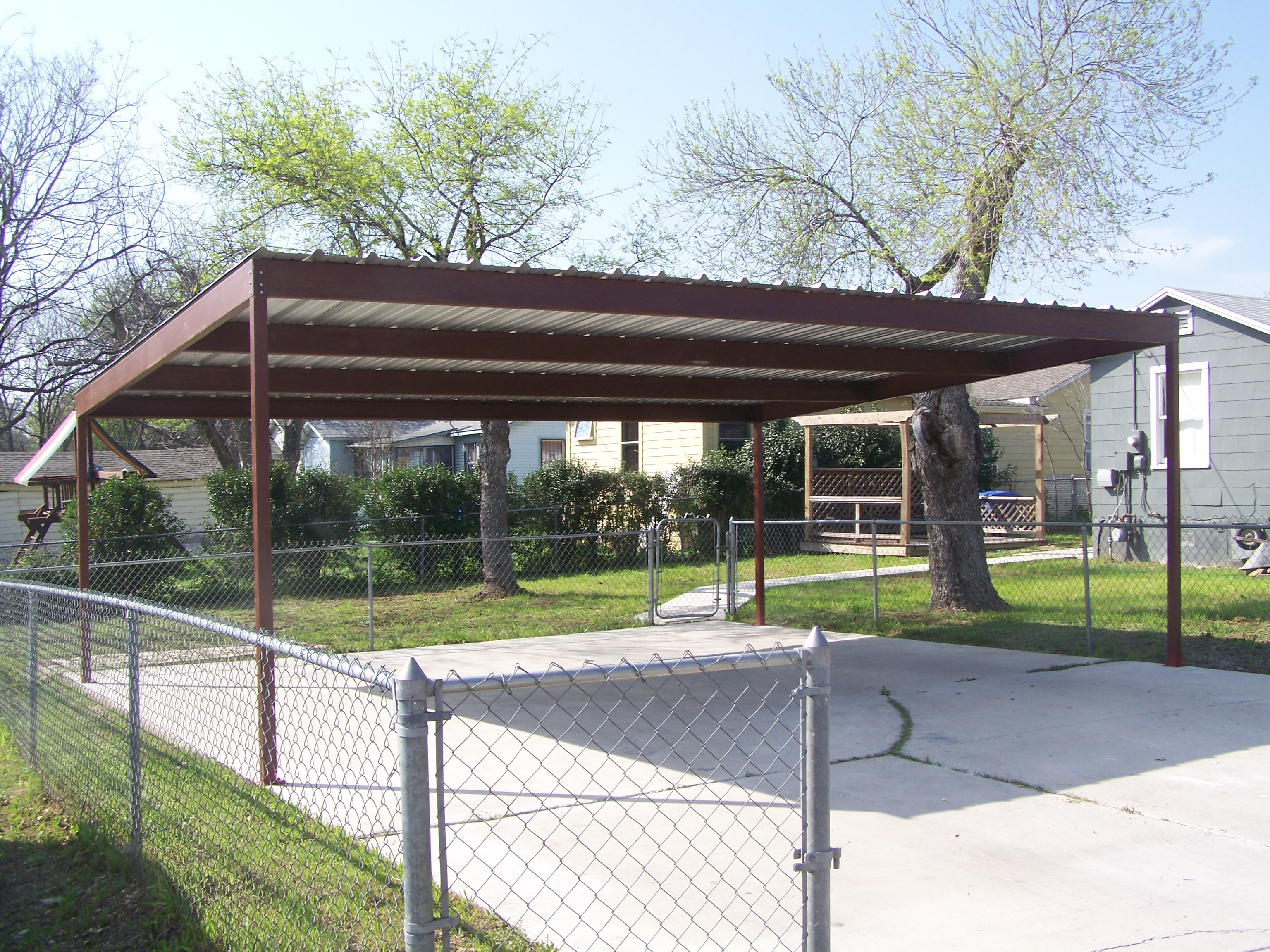 Diy Metal Carport Designs Plans Free